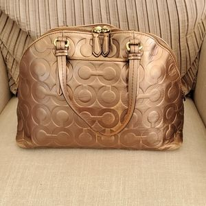 Coach Bags - Coach embossed leather purse